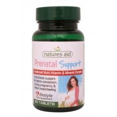 Natures Aid Prenatal Support , 60 comprimate