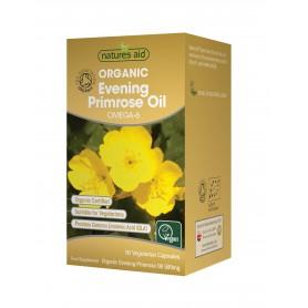 Ulei organic de luminita noptii 500 mg - 90 capsule vegetale moi Natures Aid