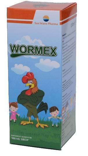 WORMEX SIROP 100ML thumbnail