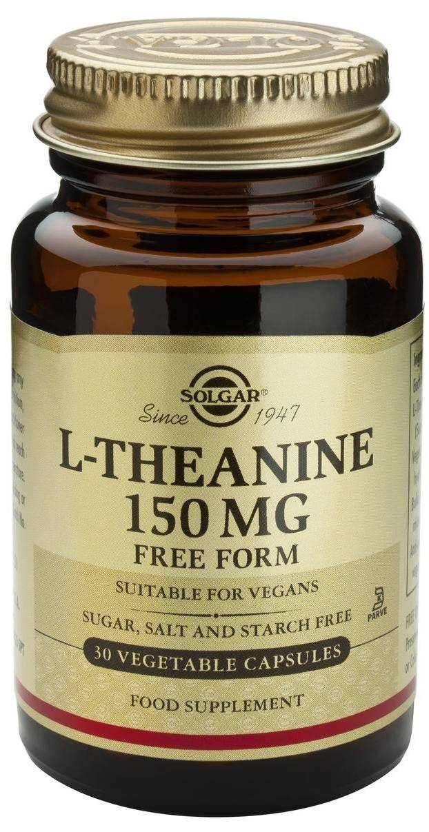l-theanine 150mg veg.30cps solgar