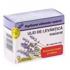 ULEI DE LEVANTICA MACERAT 40CPS