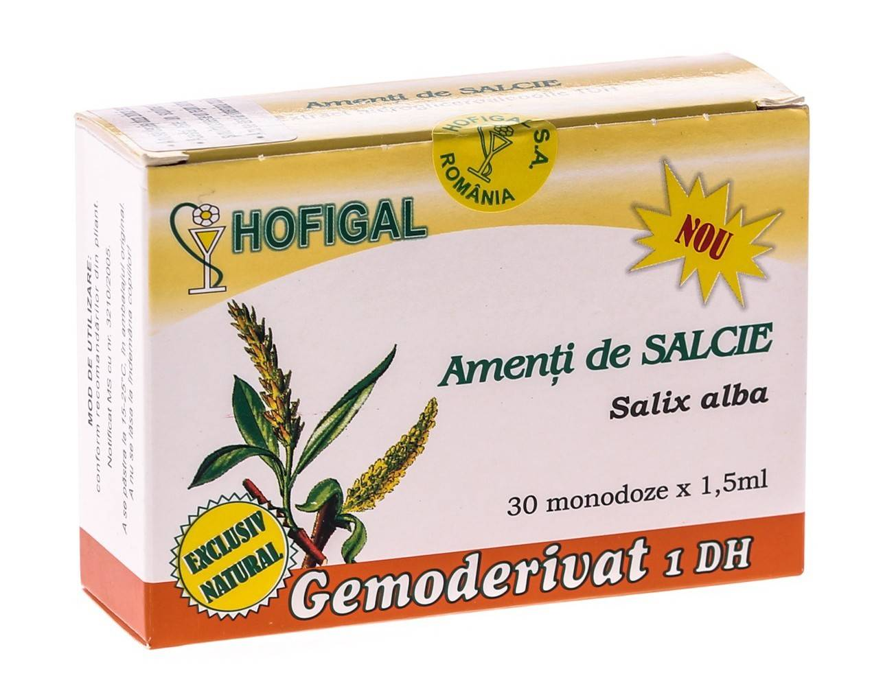 amenti de salcie - gemoderivat 30 monodoze hofigal