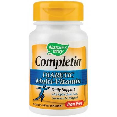 COMPLETIA DIABETIC MULTIVITAMIN (FARA FIER) 30TB