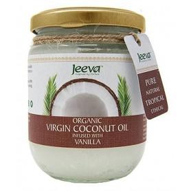 Ulei de Cocos Organic Virgin cu Vanilie 200ml Jeeva