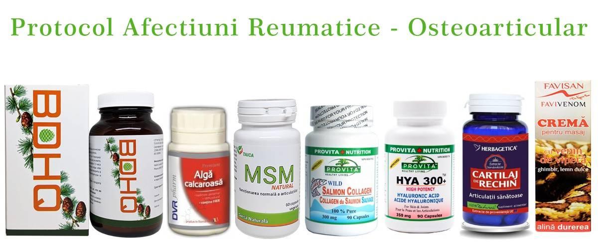 protocol afectiuni reumatice - osteoarticular