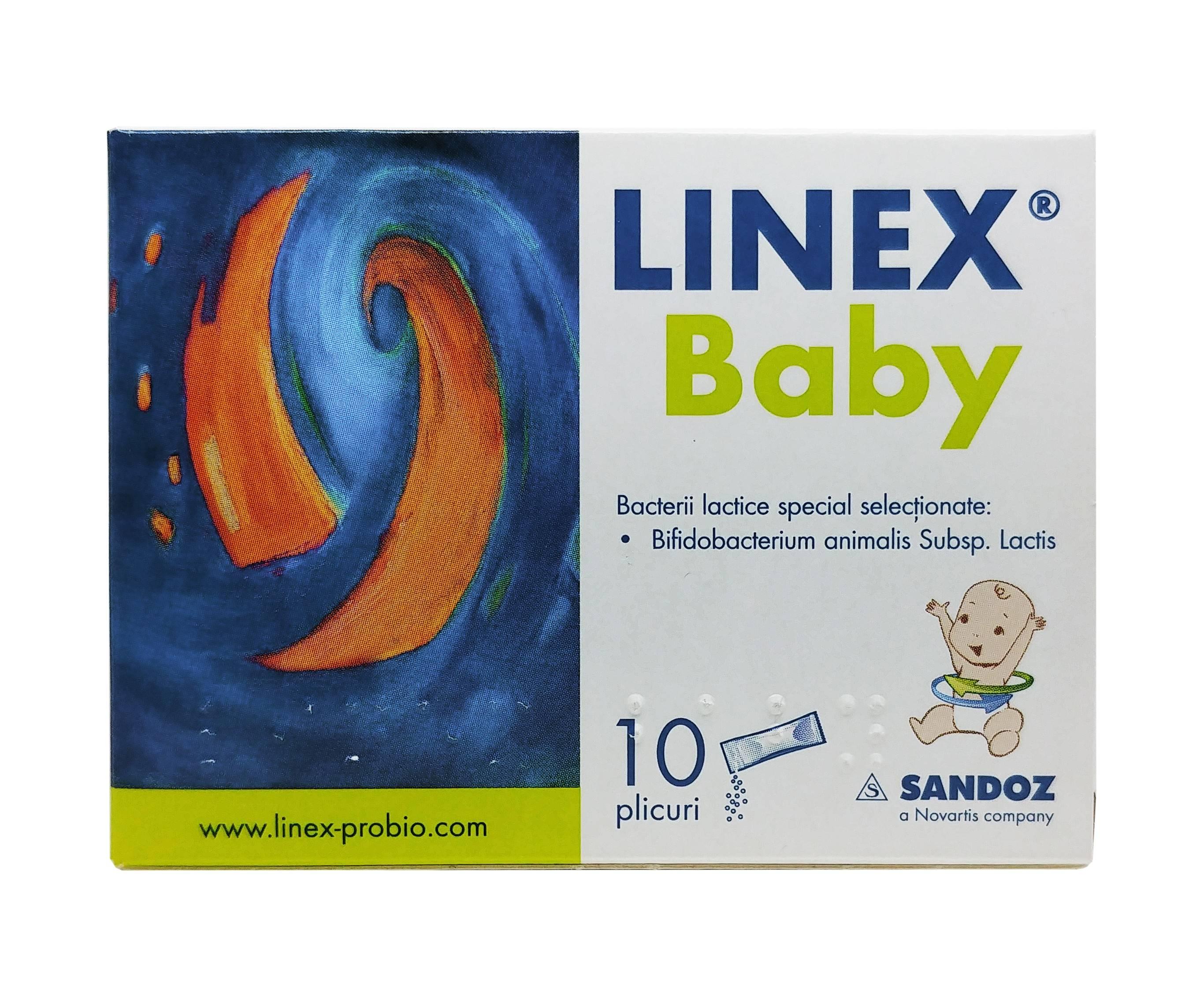 linex baby 10 plicuri