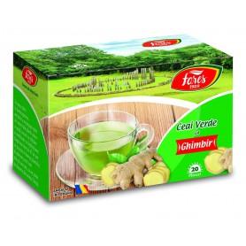 Ceai verde cu ghimbir, ceai la plic