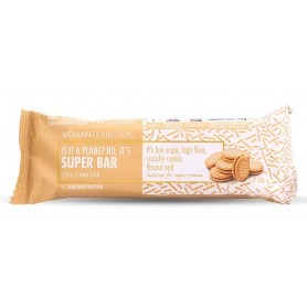 Woman Collection Super bar - Baton low carb biscuiti 40g -GOLDNUTRITION