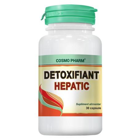 DETOXIFIANT HEPATIC 30CPS+10CPS