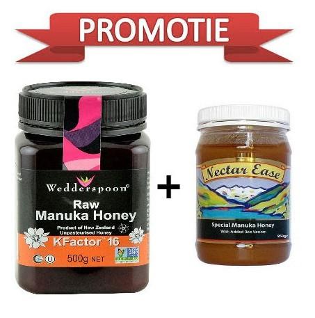 miere manuka cu venin de albine +miere de manuka 16+