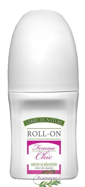 deo roll-on femme chic 50g