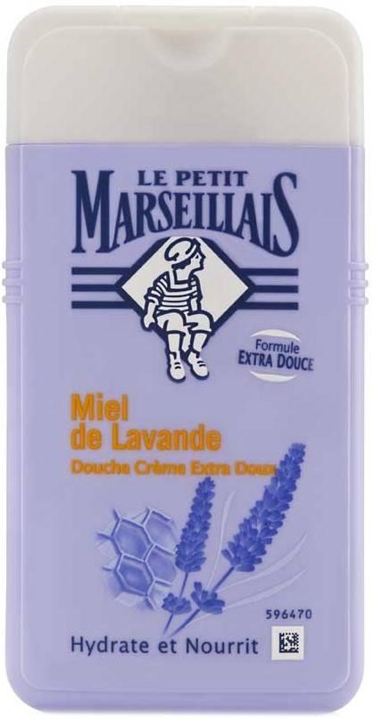 gel dus cu miere de levantica 250ml le petit marseillais