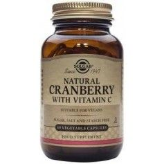 Cranberry Extract with Vit. C veg.caps 60s SOLGAR