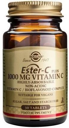 Ester-C 1000mg tabs 30s thumbnail