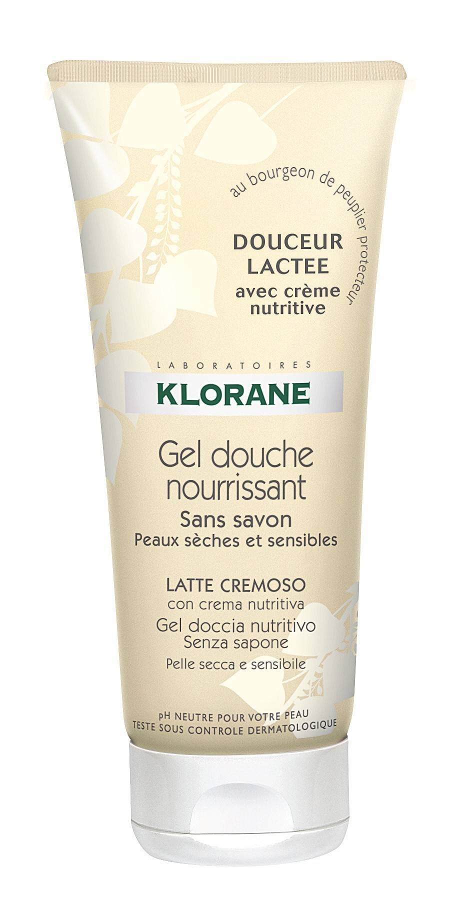 klorane gel dus lactee 200ml