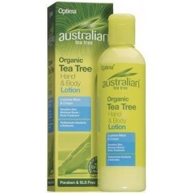 LOTIUNE DE MAINI SI CORP 100% ORGANICA CU TEA TREE 250ML