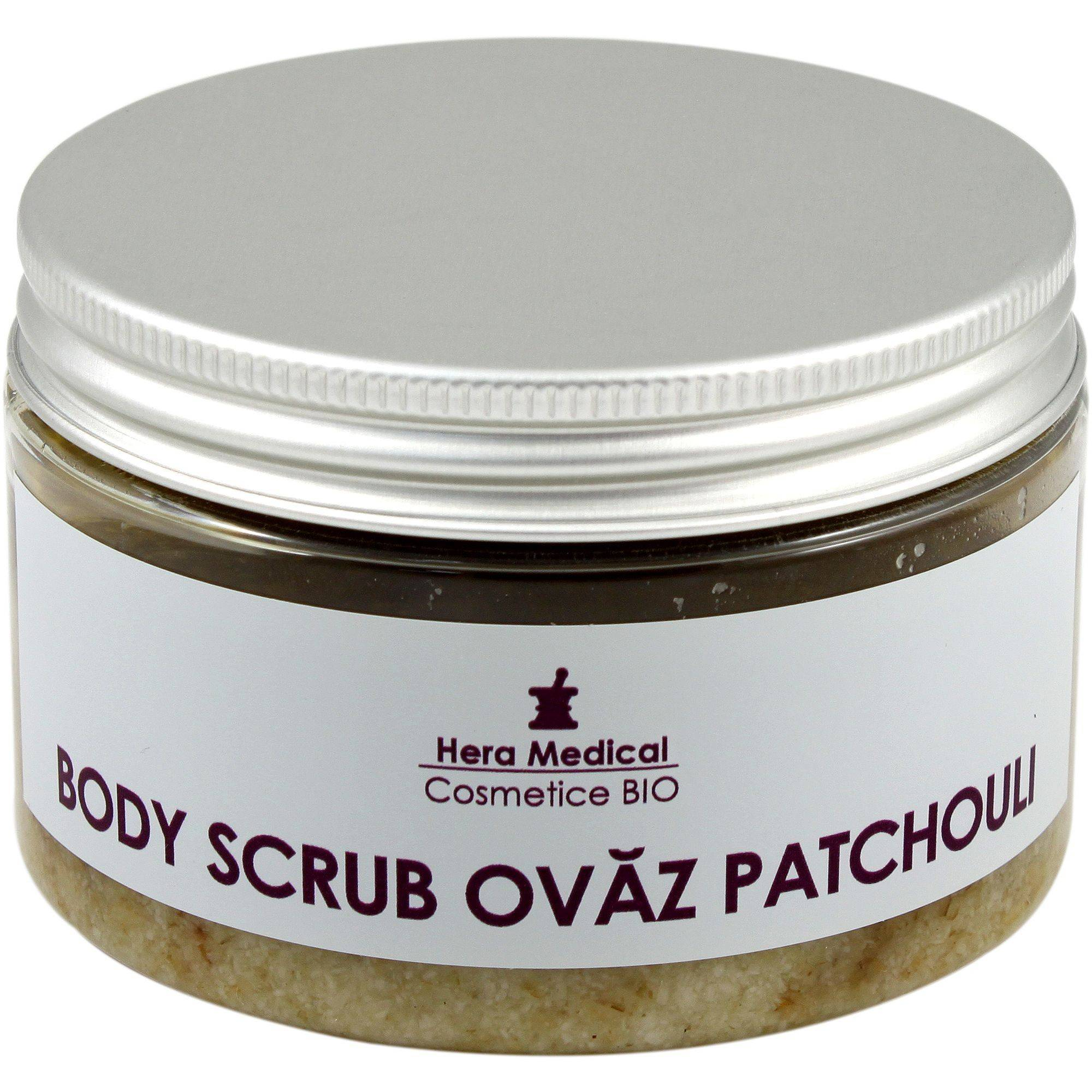 body scrub ovaz patchouli