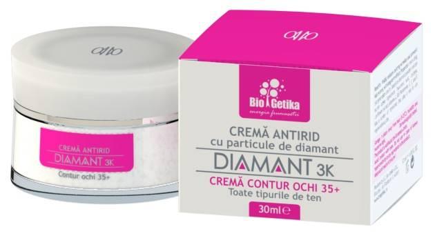 diamant 3k – crema contur ochi 35+ - 30 ml
