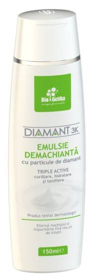 diamant 3k – emulsie demachianta – 150 ml