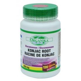 KONJAC EXTRACT-AMORPHOPHALLUS (GLUCOMANNAN) 450 MG , 120CPS